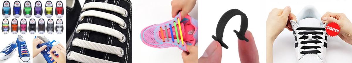 Quicklaces Silikone Snørebånd
