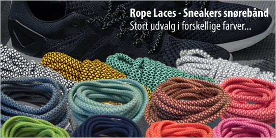 Rope Laces - Sneakers snørebånd