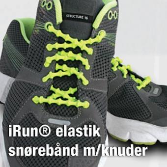 Sports elastik snørebånd med knuder