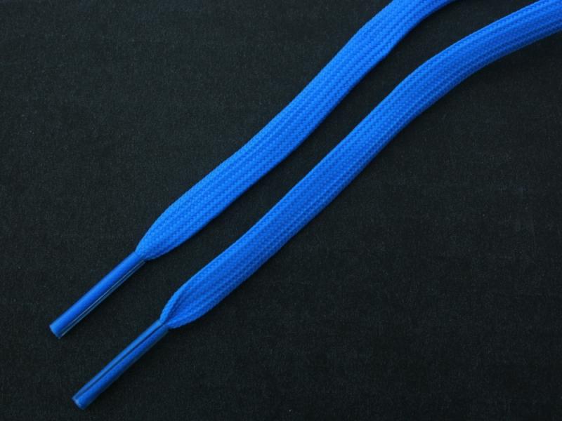 Blå flade 4mm til fodboldstøvler