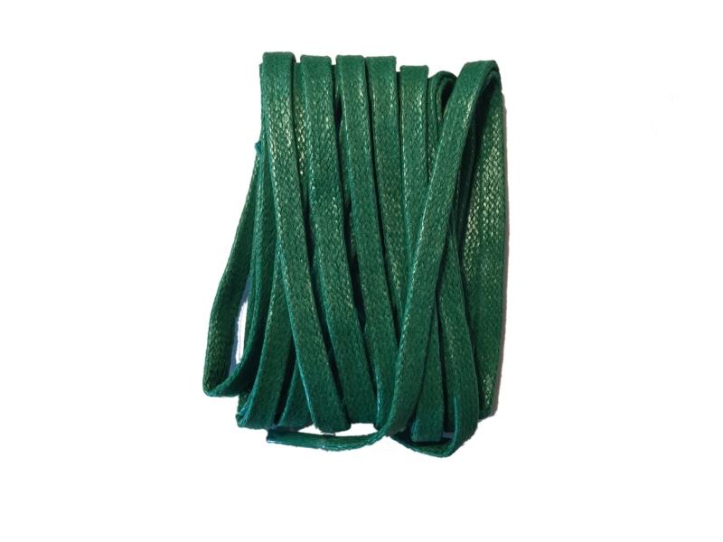 Flade 3mm fine snørebånd grønne