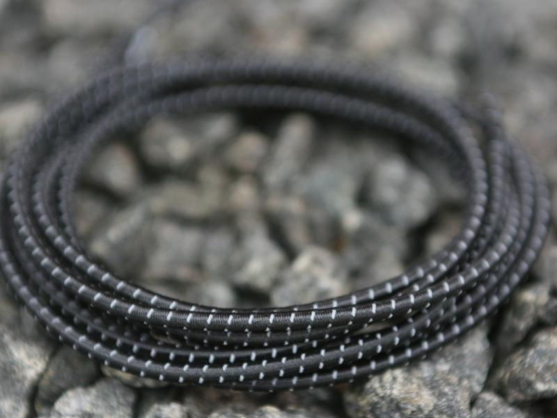 Lock Laces Refleks 3M iRun - elastik snørebånd m/refleks one size sort