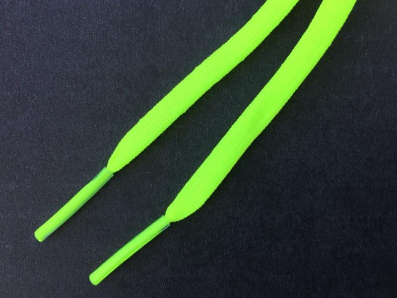 Neon Gul flade 6mm til fodboldstøvler