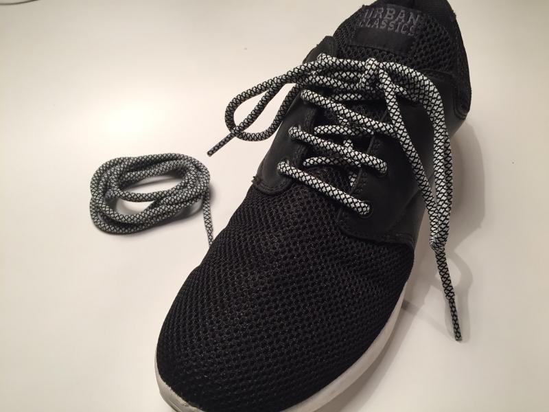 d6e71b19e9d Hvide rope laces m/Gingham mønster * Yeezy laces * super kvalitet ...