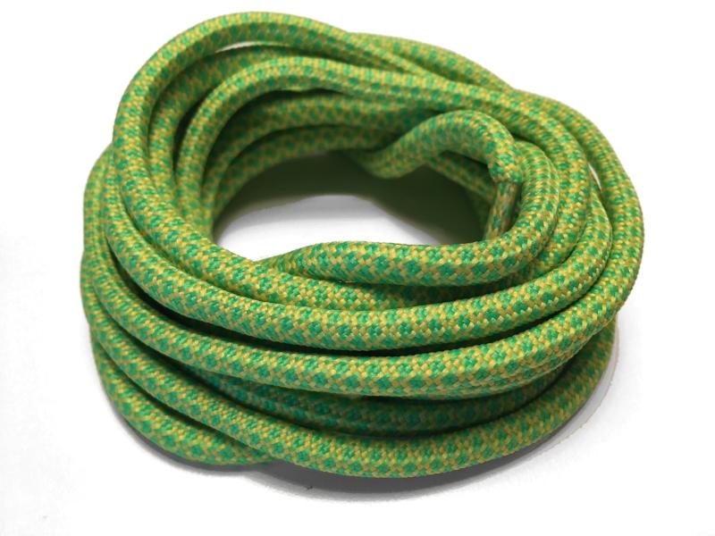 e1675c3a655 Gule og lysgrøn runde snørebånd m/Gingham mønster * Yeezy laces ...
