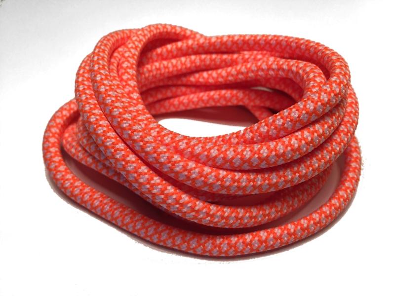 97942234269 Orange runde snørebånd m/Gingham mønster * Yeezy laces * super ...