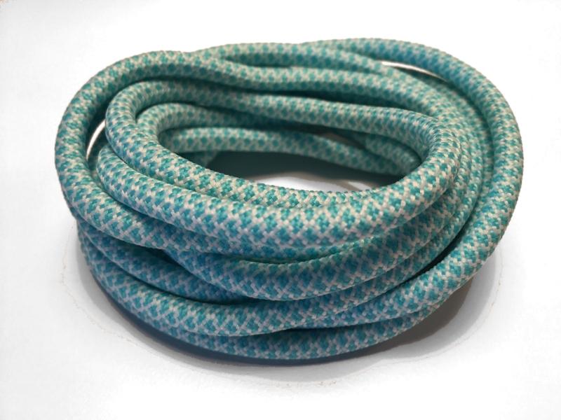 905e673946e Turkis runde snørebånd m/Gingham mønster * Yeezy laces * super ...
