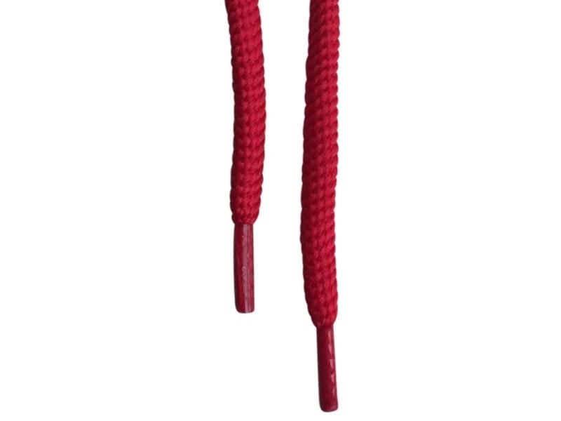Runde snørebånd 4,5-5mm - Rød