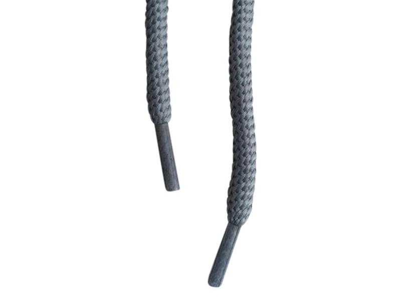 Runde snørebånd 5mm - Grå