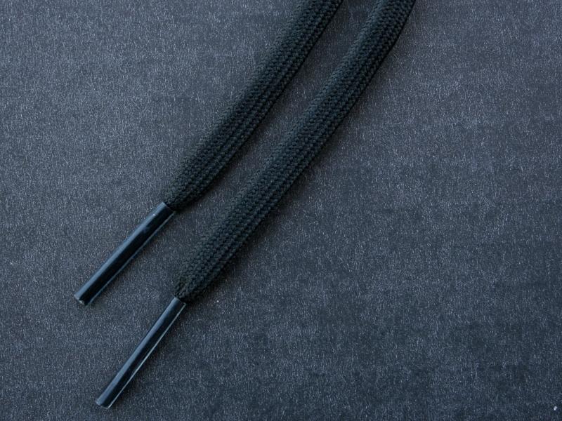 Sorte flade 4mm til fodboldstøvler
